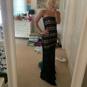 """""""Nightcap"""" prom dress bought at Planet Blue in LA"""